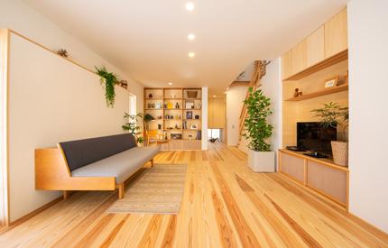 3年目の木の家