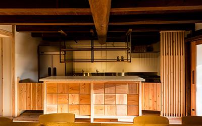 埜の蔵 キッチンスペース