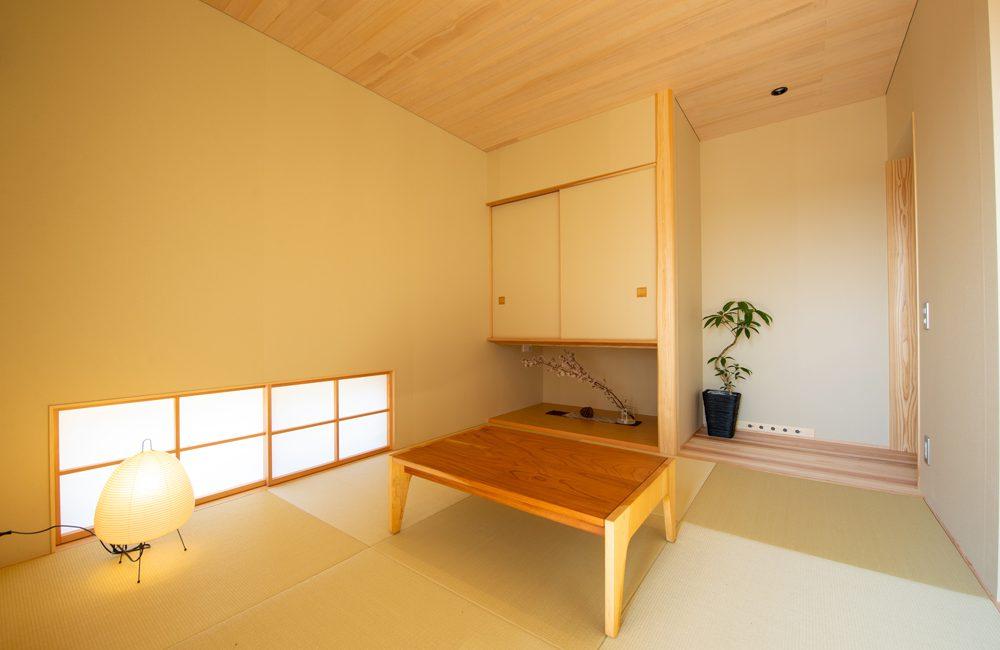 4畳半の和室