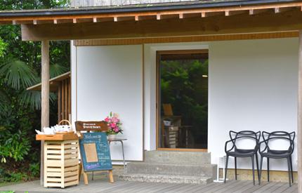 埜の蔵での月2回のシフォンケーキとビーツのカフェ