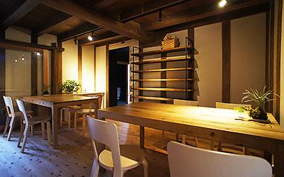 埜の蔵 カフェスペース