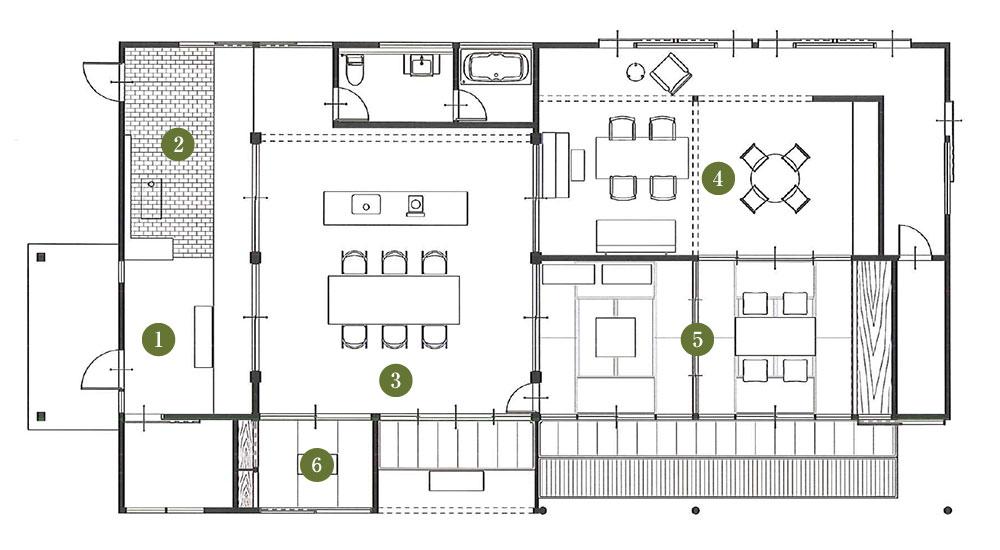 埜の家平面図